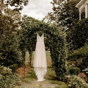 BHLDN Willowby by Watters Reagan Gown + Veil
